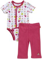 Magnificent Baby 'Nantucket' Burrito & Pants Set (Baby) - Pink-3 Months