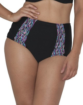 Curvy Kate Women's Galaxy High Waisted Brief Bikini Bottom