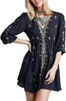 Free People Women's 'Star Gazer' Embroidered Tunic Dress