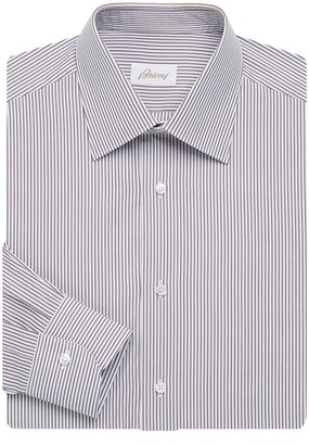 Brioni Dual Stripe Dress Shirt