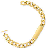 Rachel Roy Gold-Tone Link ID Collar Necklace