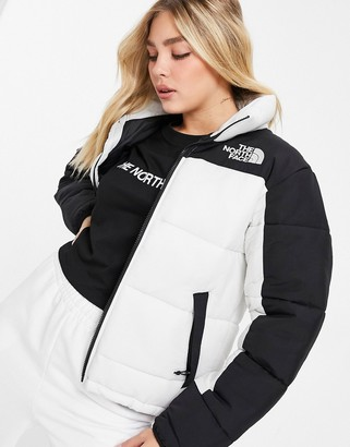 The North Face Himalayan insulation jacket in white