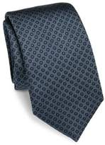 Saks Fifth Avenue COLLECTION Circle Dot Silk Tie