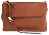 Vince Camuto Gally Leather Crossbody Bag - Brown