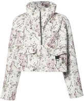 A.L.C. Clarke floral anorak - women - Cotton/Leather/Polyester - 8