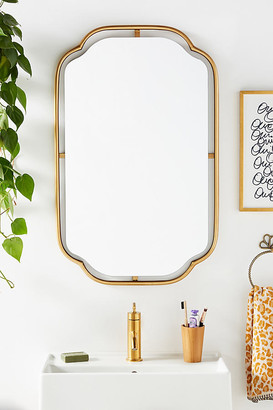 Anthropologie Perla Mirror By in Gold Size ALL
