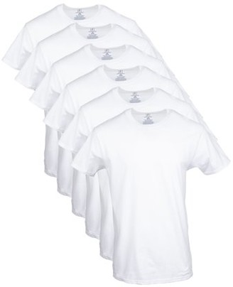 George Men's Crew T-Shirts, 6-Pack