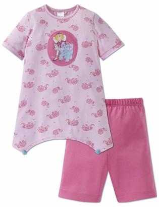 Schiesser Girls' Prinzessin Lillifee Md Anzug Kurz Pyjama Sets