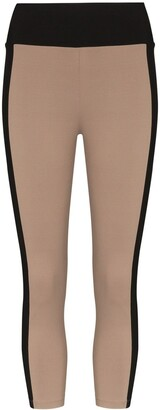 Ernest Leoty Therese two-tone cropped leggings