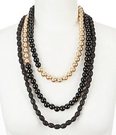 Southern Living Bentley Beaded Multi-Strand Statement Necklace