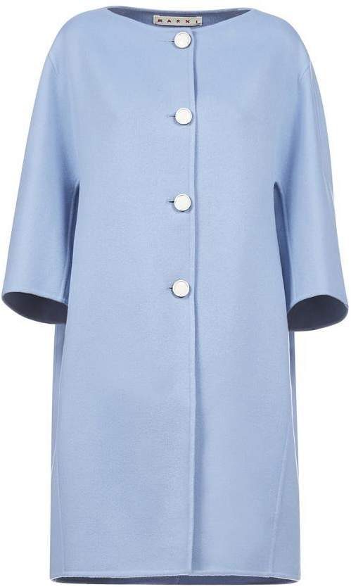 Marni Three Quarter Sleeve Trench Coat