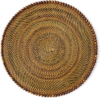 Calaisio Round Placemats with Beads, Set of 4