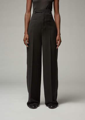 Rick Owens Women's Loose Tux Pant in Black Size 40