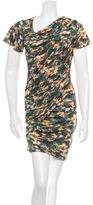 Etoile Isabel Marant Draped Printed Dress