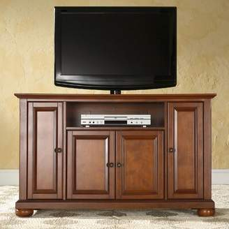 Three Posts Hedon Solid Wood TV Stand for TVs up to 50 inches Color: Classic Cherry