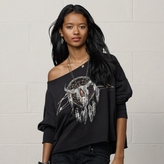 Denim & Supply Ralph Lauren Dream-Catcher Lace-Back Top