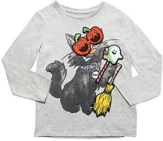 Stella McCartney Kids Halloween Organic Cotton Jersey T-shirt