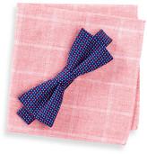 Original Penguin Tompkins Neat Bow Tie & Pocket Square Set