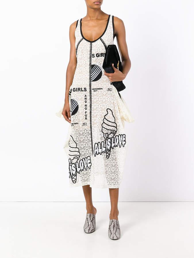 Stella McCartney embroidered lace dress