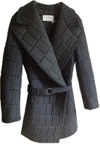 Saint Laurent Grey Silver Coat