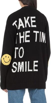 Joshua Sanders Smiley Knitted Cardigan