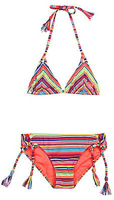 Roxy 8-14 Fringe Bikini Set