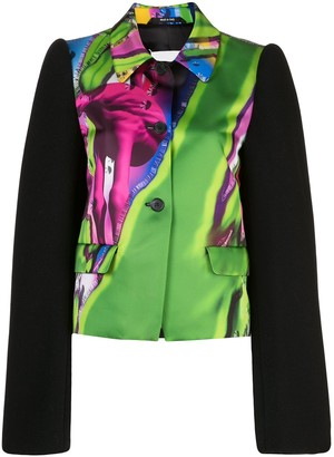 Maison Margiela Printed Relaxed Fit Blazer