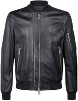 Emporio Armani Eagle Leather BomberJacket