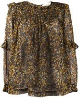 BA&SH floral-print blouse