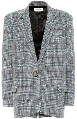 Etoile Isabel Marant Isabel Marant, étoile Korix checked wool-blend blazer