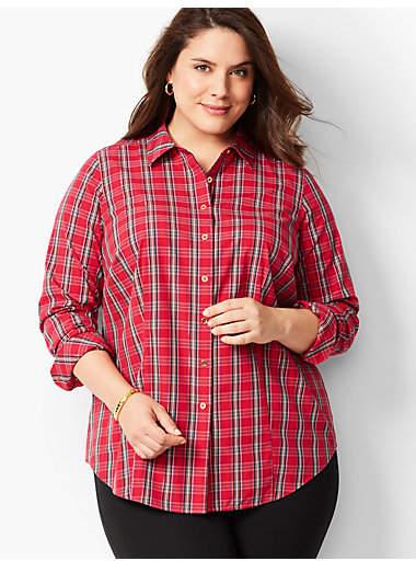 Talbots The Perfect Shirt - Plaid