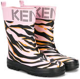 Kenzo Tiger Stripes wellies