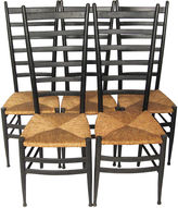 One Kings Lane Vintage Gio Ponti-Style Italian Chairs, Set of 5