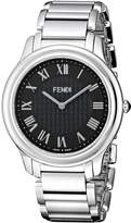 Fendi Men's F251011000 Classico Analog Display Quartz Silver Watch