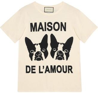Gucci Maison de l'Amour T-shirt with Bosco and Orso