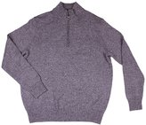 Calvin Klein Men's 100% Cotton Long Sleeve Knit Sweater Grey