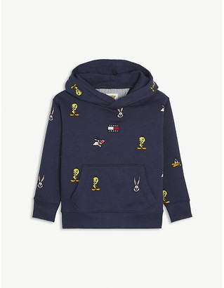 Tommy Hilfiger Tommy Jeans x Looney Tunes cotton-blend hoody 4-12 years