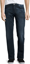 7 For All Mankind Standard Classic Straight-Leg Jeans, Dryer Canyon