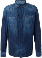 Diesel 'New-Sonora' stonewashed denim shirt