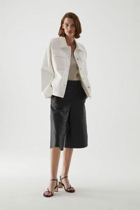 Cos Organic Cotton Utility-Style Denim Jacket