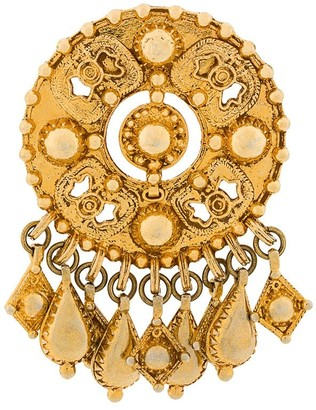 Christian Lacroix Pre-Owned drop charms pin