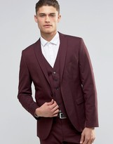Selected Suit Jacket with Stretch in Slim Fit