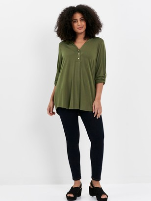 Evans Jersey Shirt - Khaki