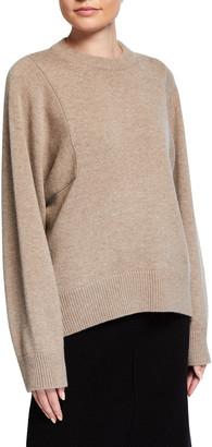 Co Paneled Cashmere Knit Sweater