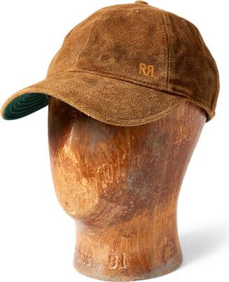 Ralph Lauren Suede Ball Cap