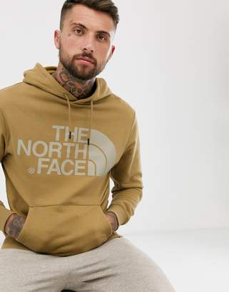 The North Face standard hoodie in khaki-Green