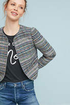 Anthropologie Cropped Tweed Jacket