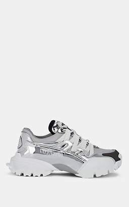 Valentino Garavani Men's Leather & Mesh Sneakers - Gray