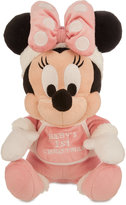 Disney Minnie Mouse Holiday Plush - ''Baby's 1st Christmas'' - Small - 9''
