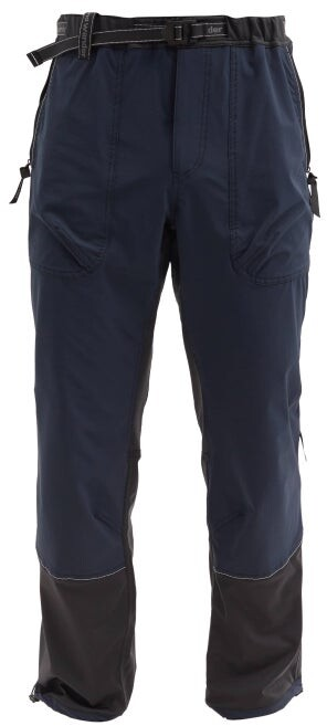 and wander Trek Technical-shell Trousers - Navy
